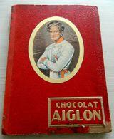 Album Chocolat Aiglon - Incomplet - Chromos Records, Congo Belge, Costumes Militaires, Épopée Napoléonienne, Papillons.. - Albums & Catalogues