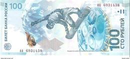 Russia - Pick 274 - 100 Rubles 2013 - 2014 - Unc - Commemorative Sochi Winter Olympic Games - Russia