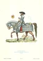 """1890""""-SERIE ARMI E CAVALIERI-GERMANIA-MAGGIORE DEI LANZICHENECCHI-1525-STAMPA PROPAGANDA LOFARMA """" STAMPA ORIGINALE - Pubblicitari"""