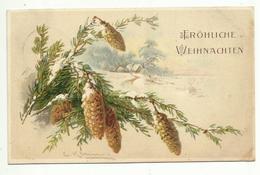 C. Klein * Catharina Klein * Weihnachten 1913 * Tannenzapfen * Landschaft - Klein, Catharina