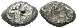 Achéménide, Darius Artaxerxes Siglos 5,4 G (fin Type IV) - Monnaies Antiques