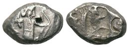 Achéménide, Darius Artaxerxes Siglos 5,4 G (fin Type IV) - Autres Pièces Antiques