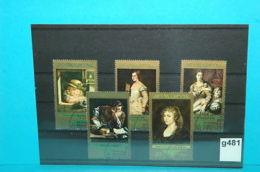 Lot-g481 Gemälde Von Rubens, Fetti, Tizian, DDR 1973 - Rubens