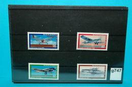 Lot-g747 Alte Flugzeuge, Junkers, Dornier, BRD 1979 ** - Avions