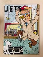 Jeux. 16. Puzzle Tintin Et Les Jouets.  En Bois De 140 Pièces  Numéroté 0790/1000.Complet Et Impeccable. - Puzzles