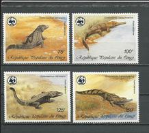 CONGO Scott C367-C370 Yvert PA361-PA364 (4) ** Cote 15,50 $ 1987 - Congo - Brazzaville