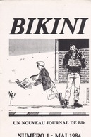 Carte Postale UCCIANI Pour Journal BD Bikini Jacky Goupil 1984 - Cartoline Postali