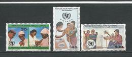 CONGO Scott 789-791 Yvert 810-812 PA379 (3) ** Cote 6,00 $ 1987 - Congo - Brazzaville