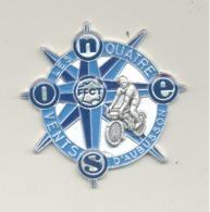 """Médaille """" Les Quatre Vents D' Aubusson """" SINE - FFCT - Cyclisme, Vélo, Cycliste,...  (b241) - Cyclisme"""