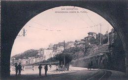 Espagne, San Sebastiãn, Miraconcha Desde El Tunel (305) - Guipúzcoa (San Sebastián)