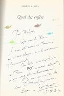 Dédicace De Ingrid Astier - Quai Des Enfers - Livres, BD, Revues