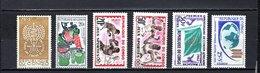 Congo  1962-63  .   Y&T  Nº    148-149-150/151-152-153    *   Sin  Goma - República Del Congo (1960-64)