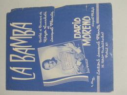 La Bamba - Dario Moreno - Partituren