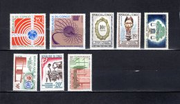 Congo  1963-64  .   Y&T  Nº    154/155-156/157-158-159-160-161    *   Sin  Goma - República Del Congo (1960-64)