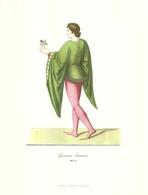 """1895""""-GIOVANE FRANCESE-MCCC-STAMPA PROPAGANDA LAB. FARM. MAESTRETTI """" STAMPA ORIG. - Pubblicitari"""