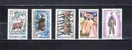 Congo  1964-65  .   Y&T  Nº    162/166    *   Sin  Goma - República Democrática Del Congo (1964-71)