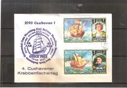 Navigateurs - Christophe Colomb & Henry The Navigator - Lettre Commémorative De Umm Al Qiwain  (à Voir) - Christopher Columbus