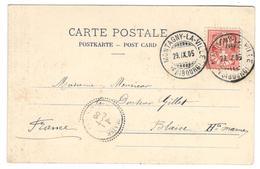 10587 - MONTAGNY LA VILLE - 1882-1906 Armarios, Helvetia De Pie & UPU