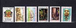 Congo  1965-66  .   Y&T  Nº    180-181-182-183/185    *   Sin  Goma - República Democrática Del Congo (1964-71)