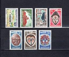 Congo  1966-67  .   Y&T  Nº    196-197-198-199/202    *   Sin  Goma - República Democrática Del Congo (1964-71)