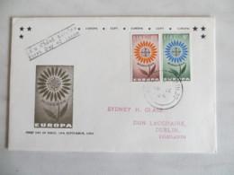64/01) Irland 1964, Ersttagsbrief, FDC, Ersttagsstempel - 1964
