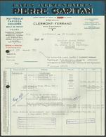 """"""" Pates Riz Chicorée PIERRE CAPITAN """" / CLERMONT FERRAND - PUY DE DOME 1945 - Alimentaire"""