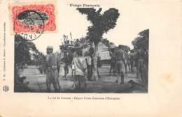 Congo - Ethnic V / 95 - Départ D'une Caravane D'européen - Belle Oblitération - Congo Français - Autres