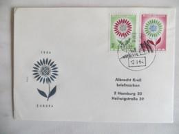 64/05) Belgien 1964, Ersttagsbrief, FDC, Ersttagsstempel - Europa-CEPT