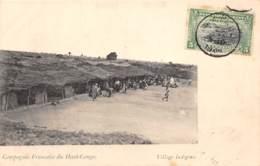 Congo - Ethnic V / 98 - Village Indigène - Belle Oblitération - Congo Français - Autres