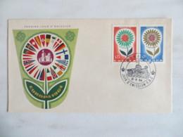 64/06) Monaco 1964, Ersttagsbrief, FDC, Ersttagsstempel - Europa-CEPT