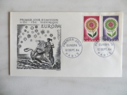 64/09) Frankreich 1964, Ersttagsbrief, FDC, Ersttagsstempel - Europa-CEPT