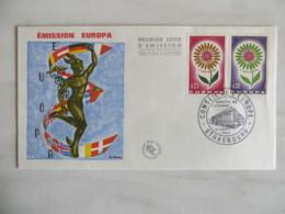 64/10) Frankreich 1964, Ersttagsbrief, FDC, Ersttagsstempel - Europa-CEPT