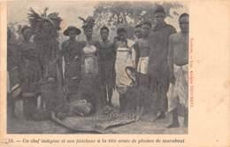 Congo - Ethnic V / 105 - Un Chef Indigène Et Son Féticheur - Congo Français - Autres