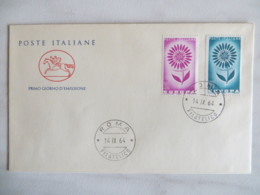 64/11) Italien 1964, Ersttagsbrief, FDC, Ersttagsstempel - 1964