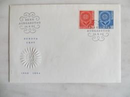 64/12) Schweiz 1964, Ersttagsbrief, FDC, Ersttagsstempel - Europa-CEPT