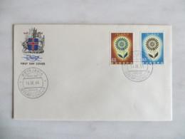 64/13) Island 1964, Ersttagsbrief, FDC, Ersttagsstempel - 1964