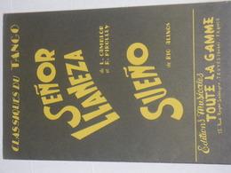 Senor Llaneza - Tango - Partitions Musicales Anciennes
