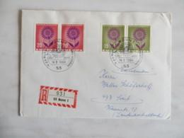 64/15) Deutschland 1964, Ersttagsbrief, FDC, Ersttagsstempel - Europa-CEPT
