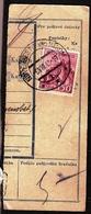Slovakia Parcel Post 1945 ... Ak307 Nove Mesto Nad Vahom - Storia Postale