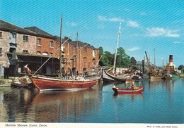 Postcard Exeter Devon The Maritime Museum [ John Hinde ] My Ref  B23206 - Exeter