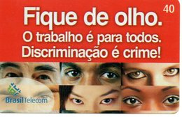 Télécarte Yeux Oeil Phonecard  (G 549) - Brésil