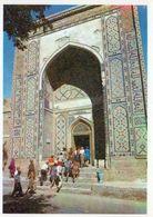 1 AK Usbekistan * Eingang Zu Den Mausoleen Im Shohizinda Komplex In Samarkand - Seit 2001 UNESCO Weltkulturerbe * - Usbekistan