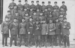 CARTE PHOTO MILITAIRE SOUS OFFICIER BATAILLON SOUVENIR D ANTIBE LE 5 OCTOBRE 1927  A IDENTIFIER VOIR PHOTO Réf 16 - Ohne Zuordnung