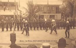 Congo - Boma / 12 - Le Prince Albert Passant Les Troupes En Revue - Congo Belge - Autres