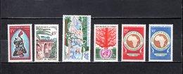 Congo  1968-69  .   Y&T  Nº    218-219-225-226-227/228    *   Sin  Goma - República Democrática Del Congo (1964-71)