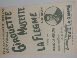 Girouette Musette - La Flegme - Partitions Musicales Anciennes