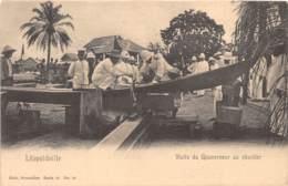 Congo -  Leopoldville / 23 - Visite Du Gouverneur Au Chantier - Cliché Nels - Kinshasa - Léopoldville