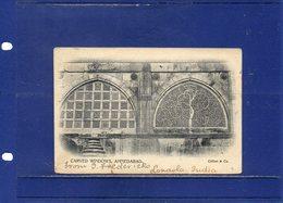 ##(DAN1812)-India-  Carved Windows, Ahmedabad - Used 1906 From Lonavla To Roulers-Belgium,sea-post Cancel - India