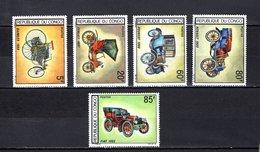Congo  1968  .   Y&T  Nº    220/224    *   Sin  Goma - República Democrática Del Congo (1964-71)