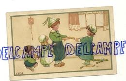 """Quatre Enfants Qui Jouent Avec Des """"pétards-surprises"""". M. Munk IMJ . M. M Vienne Nr 654 - Illustrateurs & Photographes"""